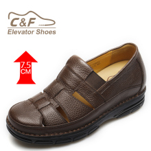 Latest design men leather sandals casual man sandal shoe