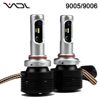 V8 H13 LED Car Headlight 36W 4800LM Hight Light Led Headlight Usa 6000K White 9004 9007 9006 hb4 double led car headlight