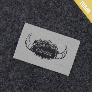 Custom Soft Material Print Cotton Pillow Label