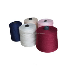 Anti pilling Rabit hair core spun yarn 28s/2 for knitting (viscose/nylon/pbt blended yarn)