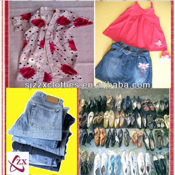 2017 new styles used clothes from USA in bulk