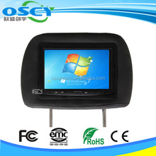 "OTM-7000 7"" inch VGA TFT LCD Touch Screen Monitor for car PC POS DVD with 2AV"