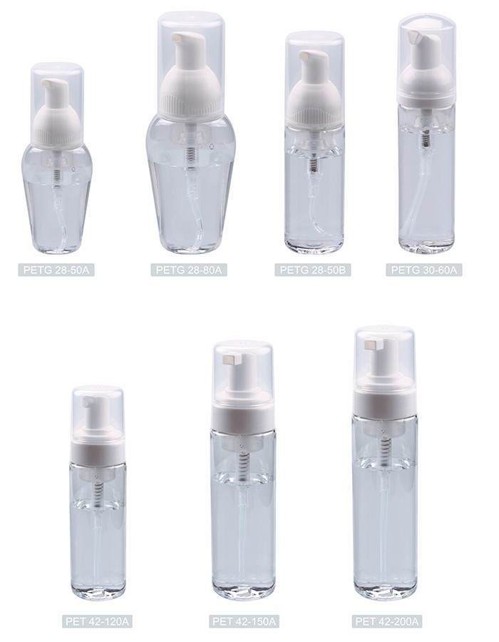 Factory supply attractive price shampoo plastic foam pump
