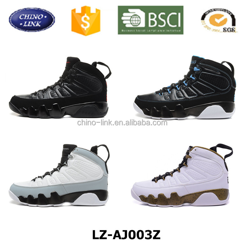 Custom high quality 9th Gym Sport Shoe Shock Absorbing brand model new design mens Ankle Boots basketball gym shoes