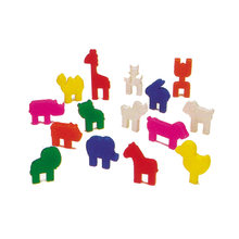 Intelligent educational toy 75PCS Animals shape Building Blocks manipulative toy