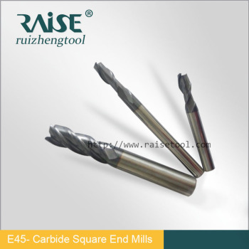 CNC Carbide Plain End Milling Cutters