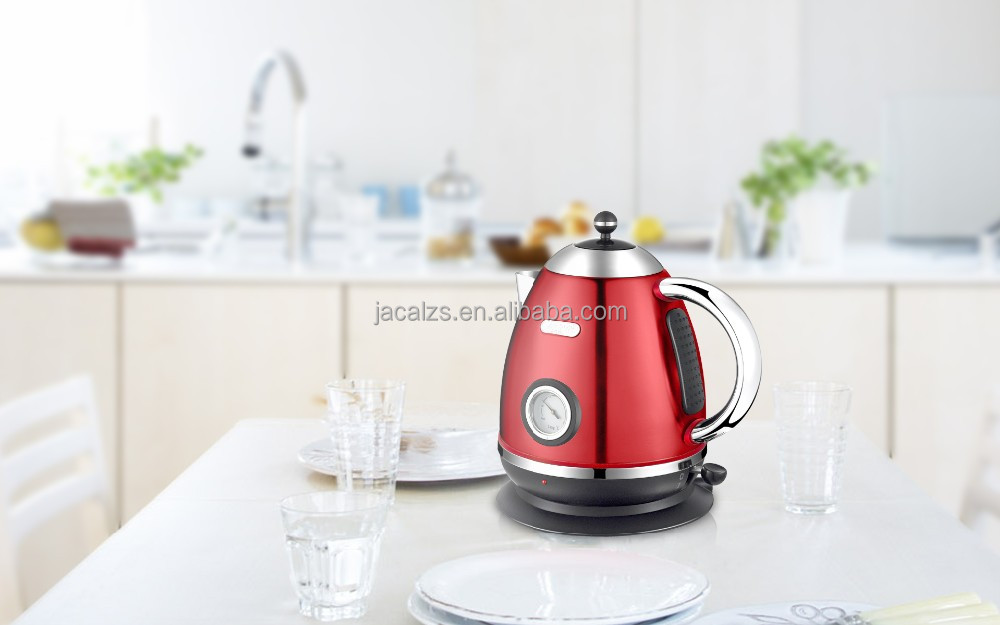 1600w small thermometer water kettle CE CB GS RoHS