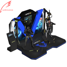 Shooting Motion Ride 9D VR Walker 7D VR Games Simulator 9D Virtual Reality Cinema Machine