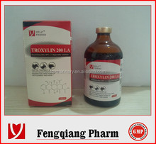 Oxytetracycline Injection 5% Chinese best veterinary antibiotics