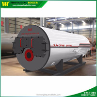 Convenient installation on site industrial steam stove boiler