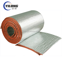 roof and sound insulation coated adhesive backed foil rubber foam