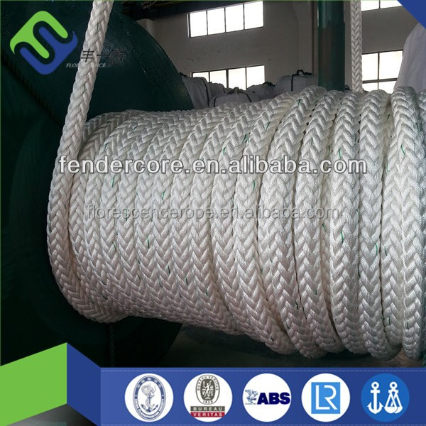 CCS verified PP floating cord/marine used square braided rope/mooring rope