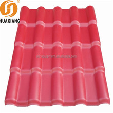 High pitch 3 layer UPVC roofing tile/anti-corrosion PVC Roof sheets