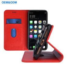 2018 Wholesale Leather wallet Mobile Phone Case Cover for iPhone 8