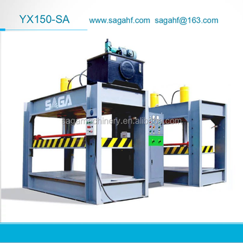 YX150-SA High Frequency Curved Plywood Press From SAGA