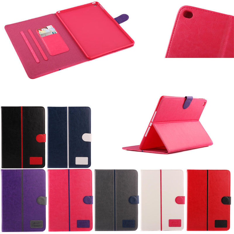 Soft tpu cover+leather case for ipad air 2