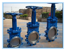 wafer cast iron pn10 pn16 knife gate valve
