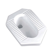 Cheap White Bathroom Ceramic Squat Pan Toilet Price