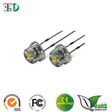 Ultra bright Epistar LED 5mm straw hat LED