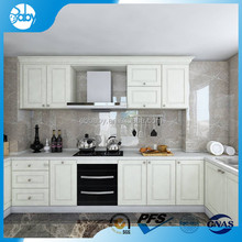 Simple corner kitchen cabinet with plate rack