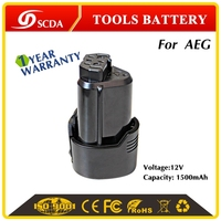 High Quality Replacement 1500mAh Li-ion power tool battery for AEG L1215, L1215R