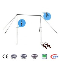 Outdoor gymnastics equipment bars adjustable parallel bars