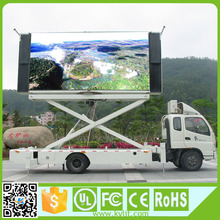 Mobile stage full color p10 outdoor truck mobile advertising led display