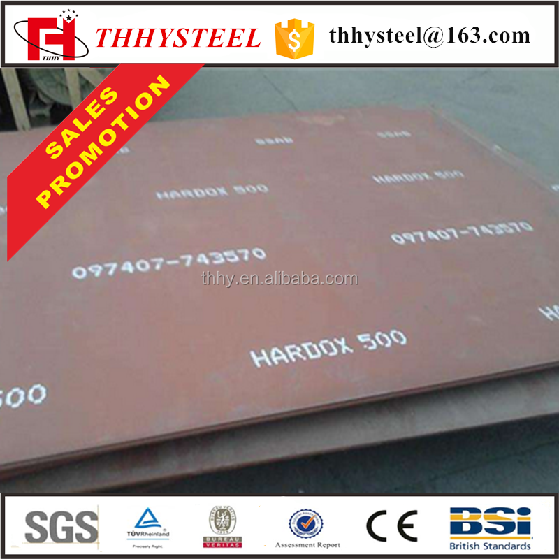 High strength NM360 NM400 NM500 wear resistant steel plate