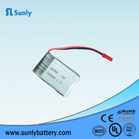 Rechargebale Lithium aa 3.7v, 20C Polymer ion Battery for Broad Camera