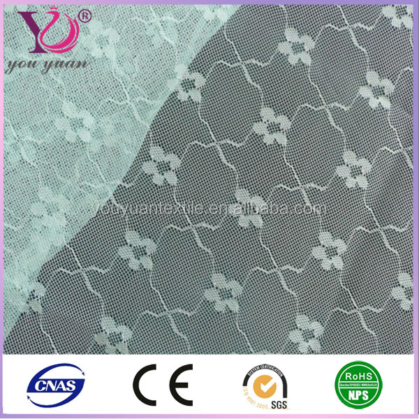 Small hole mesh fabric polyester printed square mesh fabric