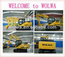 13ton earth-moving crawler excavator jcb excavator price