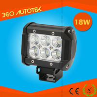12v 18w rechargeable led work light for automotive off road use