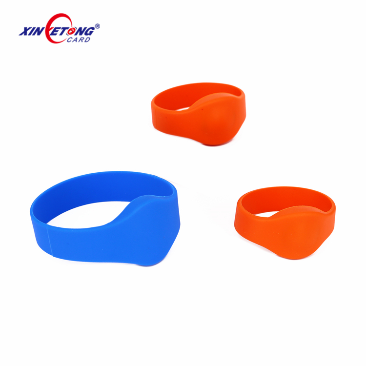 High Quality Factory custom design silicon disposable rfid bracelet Wristbands