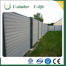 Wood plastic composite decorative wpc fence wall