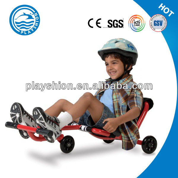 Super Quality Kids Scooter Big Wheels 100mm LED Lights