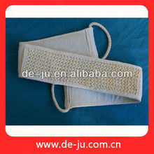 Skin Care Sisal Loofah Belts Long Back Scrubbing Brushes