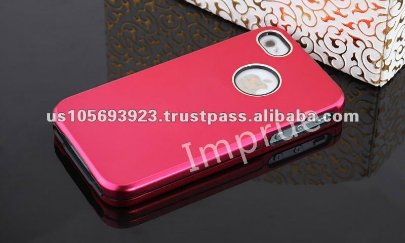 Luxury Aluminum hard case for Apple Iphone 4S 4G