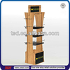 TSD-W001 custom retail store pos wood display shelf,melamine shelves,department store furniture