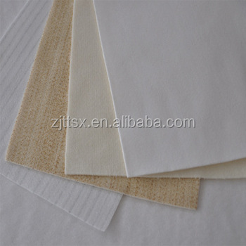 Polyester pulse jet fabric filter bags water and oil repellent fabric