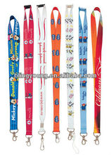New fashion custom printed neck lanyards no minimum order for sale