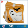 Drawstring flat candy bag, die cutting bag in soft poly materials