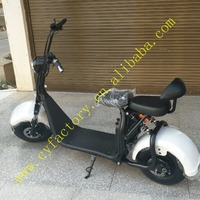1000w hub motor 2 wheel electric scooter with removable battery city coco electric bike