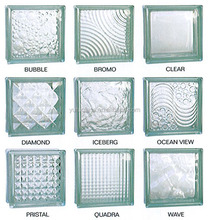 Decorative Colored and Clear Glass Blocks / Brick with good price& high quality