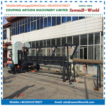 Wood Sawmill Double Blade Vertical Band Saw Mills