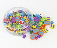 FQ brand wholesale hot product fruit number beads education wooden toys for children