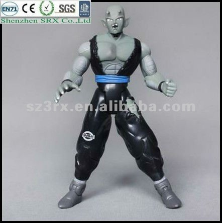 Comic resin dragonball plastic action figure