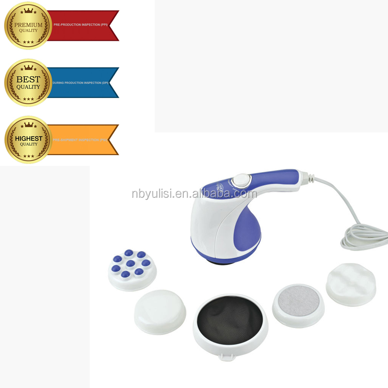 personal alarms handhold head slimming body massager with high quality