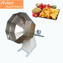 puffed rice flavoring machine / popcorn flavoring machine / automatic snack food seasoning machine