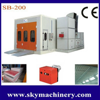 Industrial Water Curtain Spray Booth / Spray Paint Room with CE