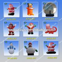 2012 vivid inflatable christmas decoration